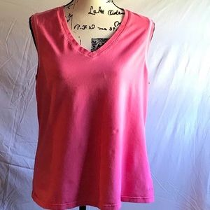 Athletic Works pink sleeveless top 2X